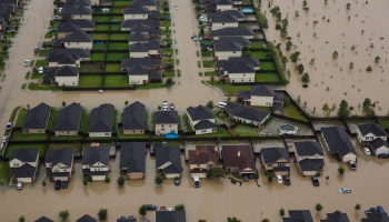 Flooding in Houston From Hurricane Harvey