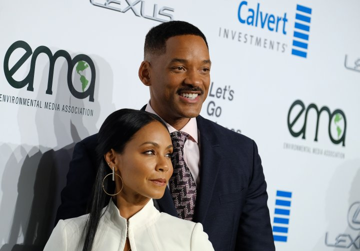 Jada and Will Smith
