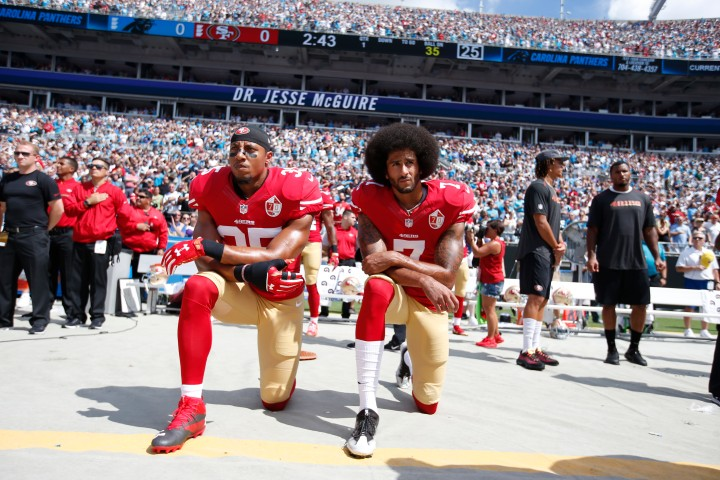 Stand For Something By Taking A Knee