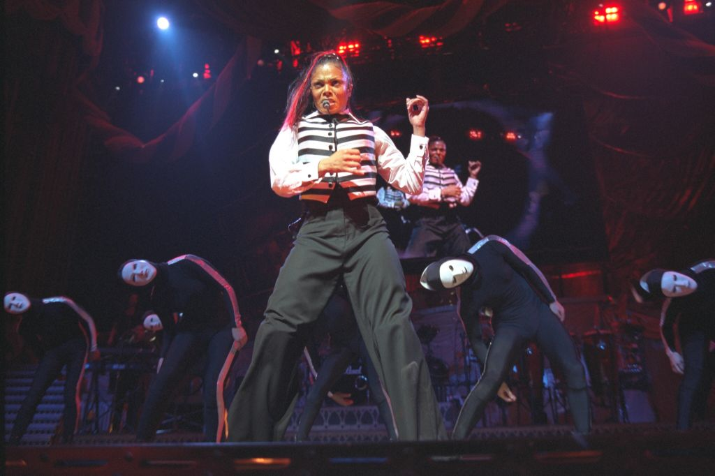 JANET JACKSON IN CONCERT AT BERCY
