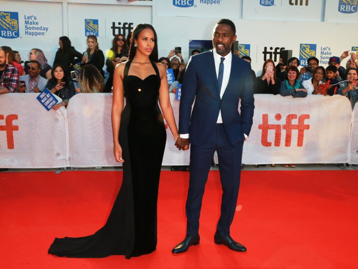 Idris Elba & Sabrina D'howre