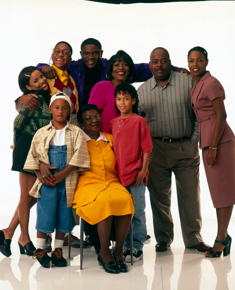 BACK ROW:MICHELLE THOMAS;JALEEL WHITE;DARIUS MCCRARY;JOMARIE PAYTON;REGINALD VELJOHNSON;KELLIE SHANYGNE WILLIAMS FRONT ROW: ORLANDO BROWN;ROSETTA LENOIRE;BRYTON JAMES