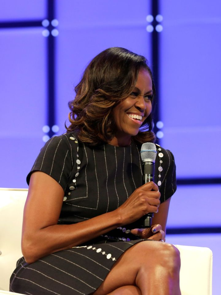 Michelle Obama Headlines Conference For Women 2017