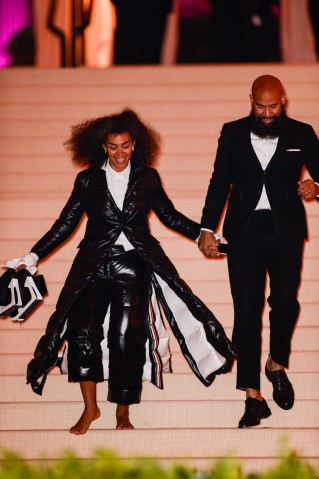 Rei Kawakubo/Comme des Garcons: Art Of The In-Between' Costume Institute Gala - Outside Arrivals