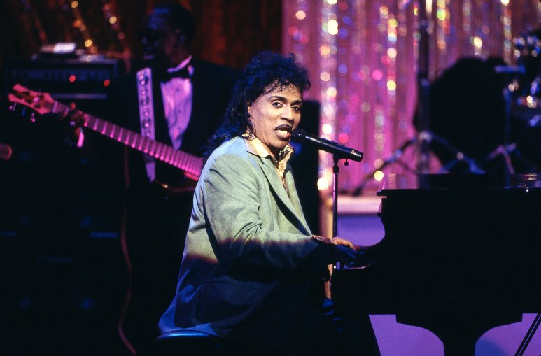 Little Richard Appears At A Gala for the President at Ford's Theatre