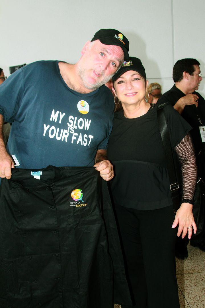 Gloria Estefan & José Andrés