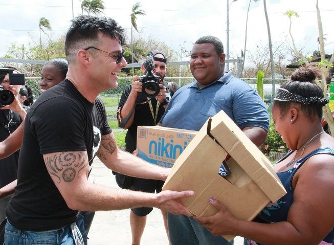 Celebrities Support Victims Of Hurricane Maria