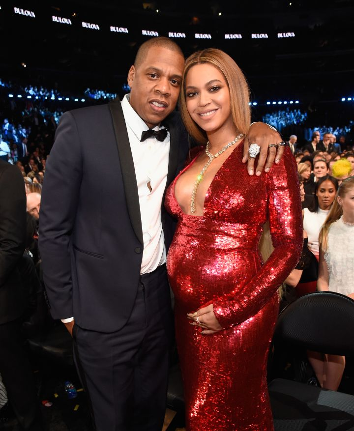 BEYONCÉ AND JAY-Z AT THE 59TH GRAMMY AWARDS, 2017