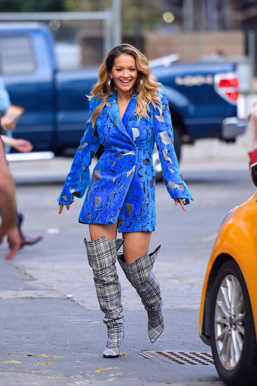 Celebrity Sightings in New York City - October 5, 2017