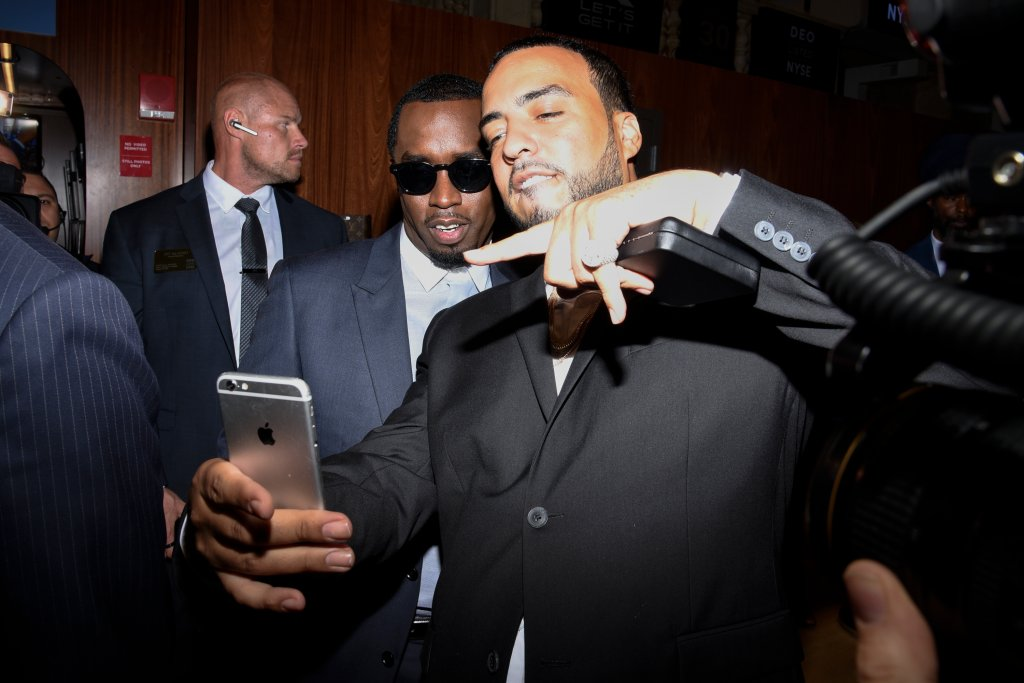 Sean 'Diddy' Combs And CIROC Ring NYSE Closing Bell