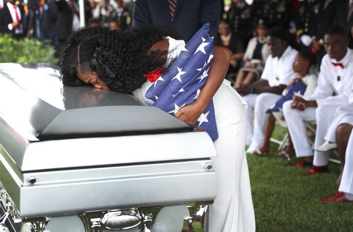 Funeral Held For Army Sergeant La David Johnson Killed In Ambush In Niger