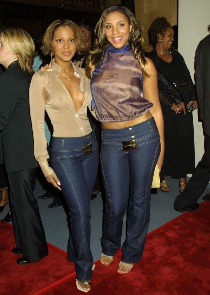 BEFORE: Toni and Tamar Braxton