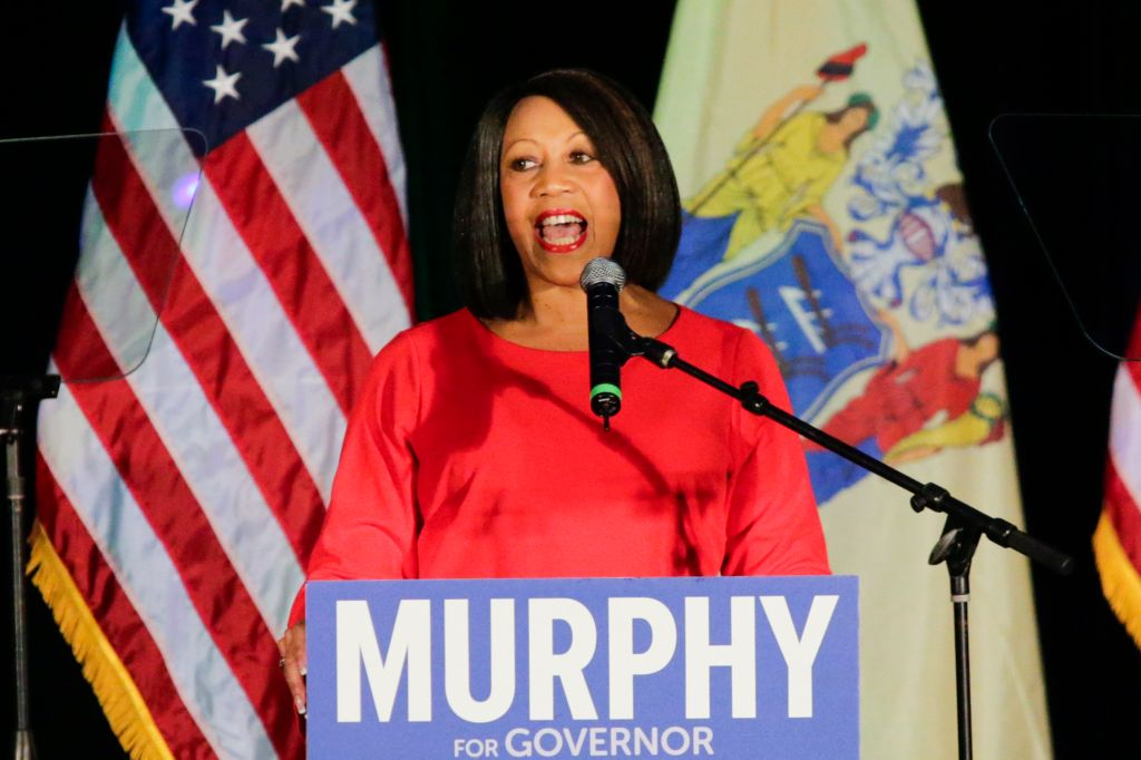 Democratic Candidate For Governor In New Jersey Phil Murphy Holds Election Night Gathering In Asbury Park
