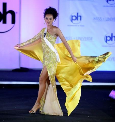 Miss Universe Trinidad and Tobago Yvonne Clarke