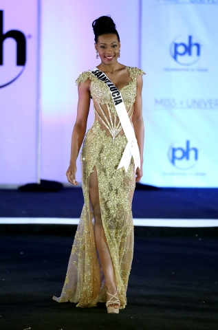Miss Universe St. Lucia Louise Victor
