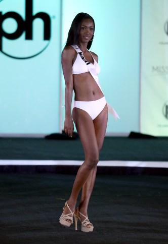 Miss Universe Haiti Cassandra Chery
