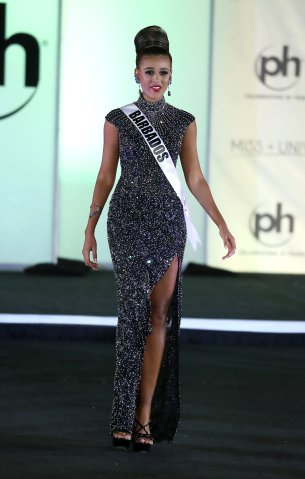 Miss Universe Barbados Lesley Chapman-Andrews