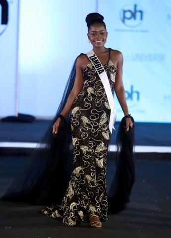 Miss Universe Zambia Isabel Chikoti