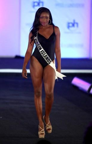 Miss Universe British Virgin Islands Khephra Sylvester