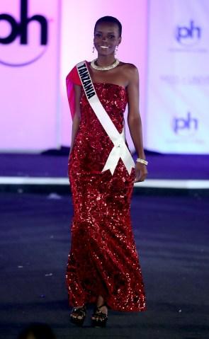 Miss Universe Tanzania Lilian Ericaah Maraule
