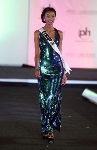 Miss Universe Ethiopia Akinahome Zergaw