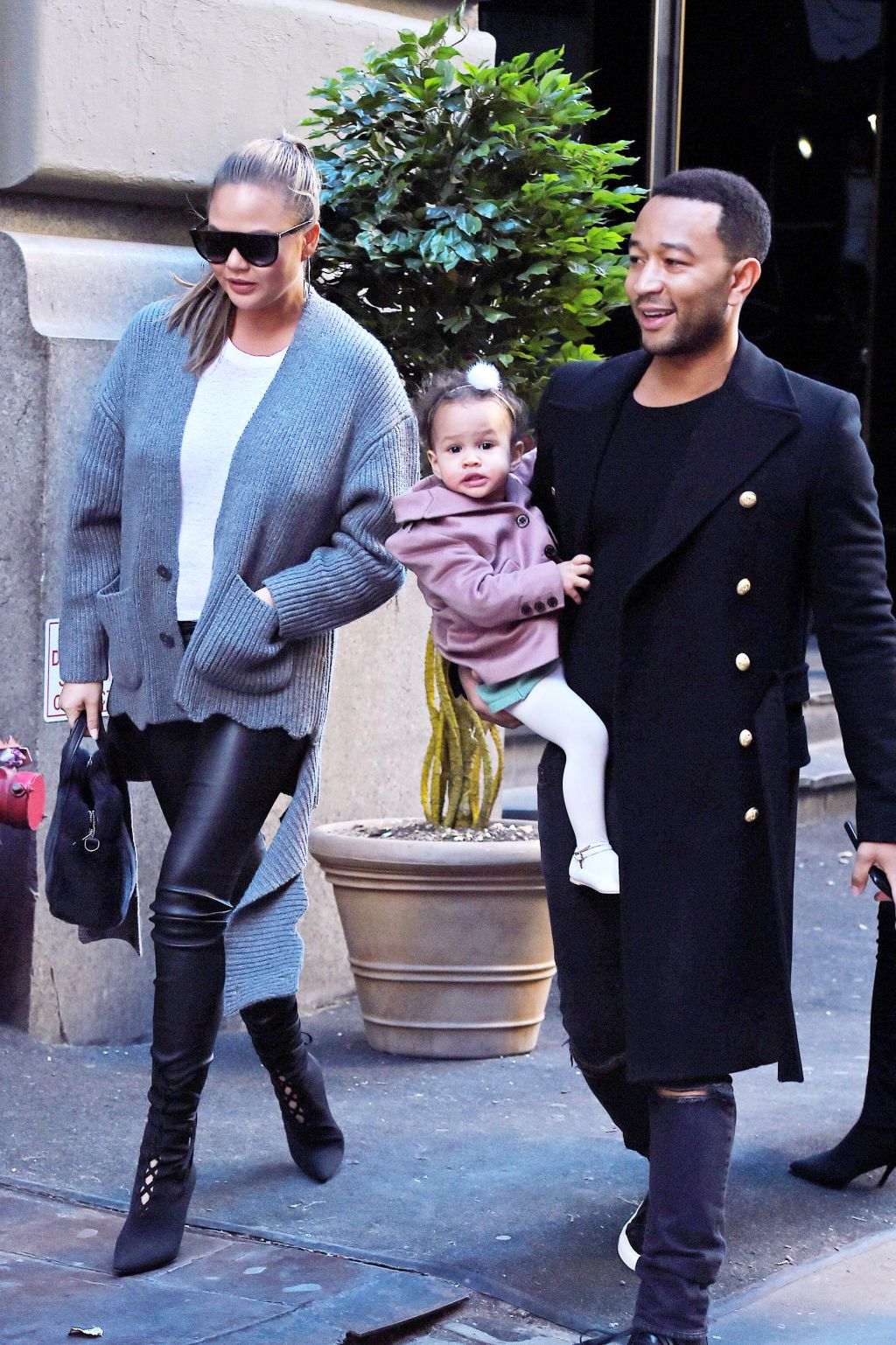 BuzzFoto Celebrity Sightings In New York Ð December 13, 2017