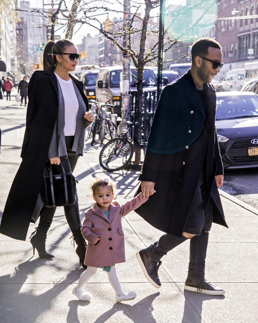 Celebrity Sightings in New York City - December 12, 2017