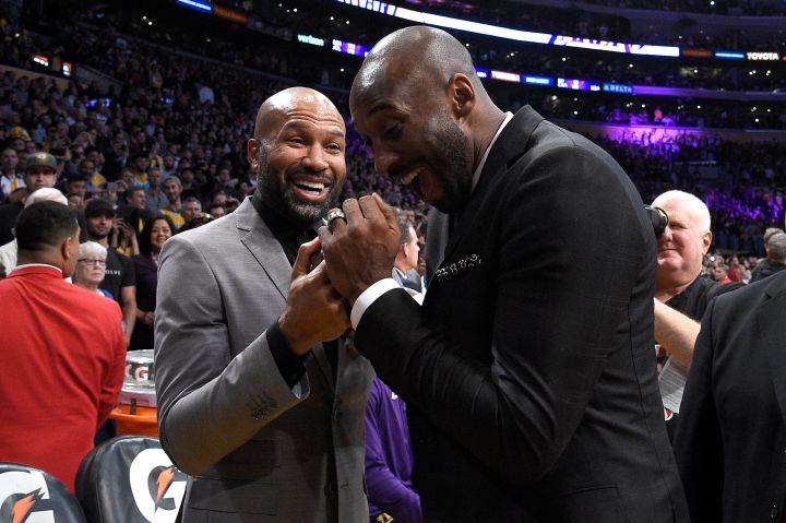 Kobe Bryant Jersey Retirement Ceremony