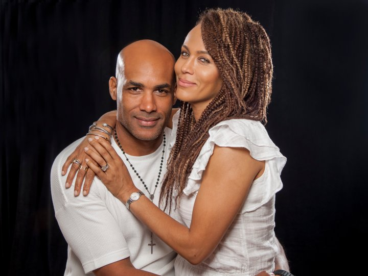 Nicole and Boris Kodjoe