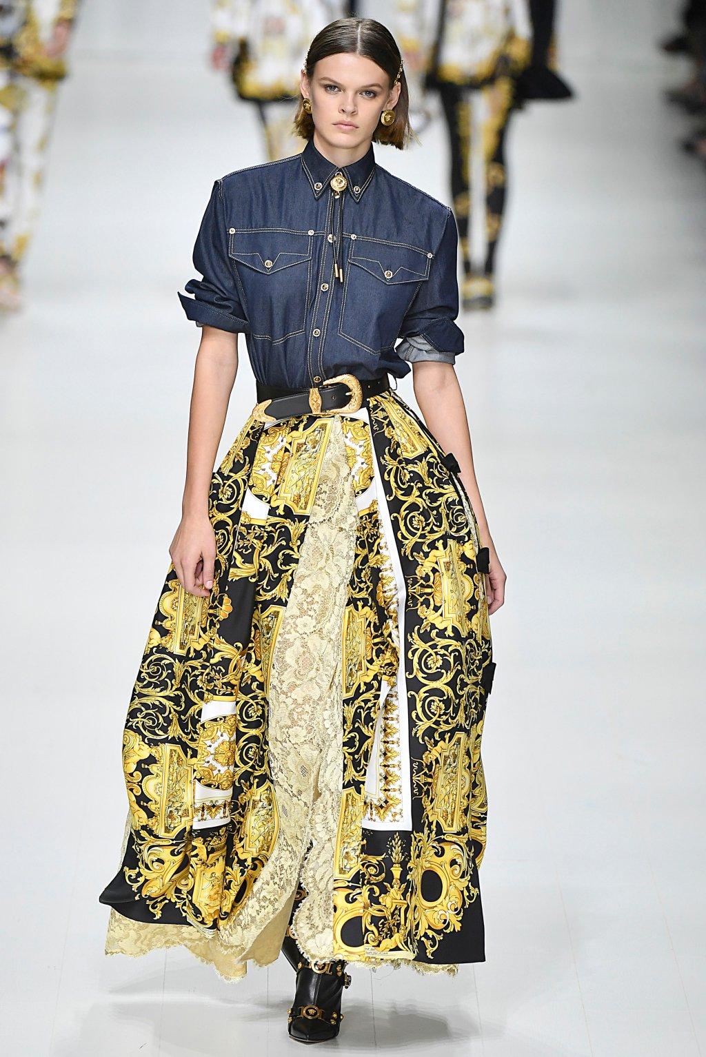 Versace - Runway - Milan Fashion Week Spring/Summer 2018