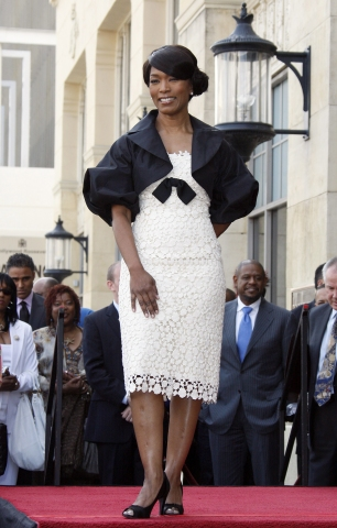 Angela Bassett Honored with a Star on the Hollywood Walk of Fame