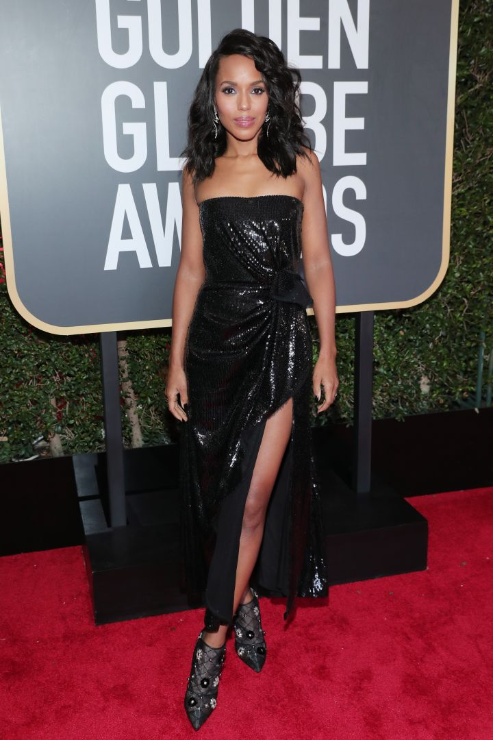 Kerry Washington attends the NBC's '75th Annual Golden Globe Awards'