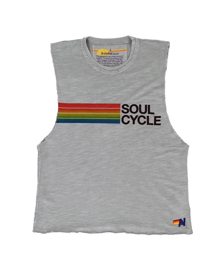SOUL CYCLE AND AVIATOR NATION COLLAB