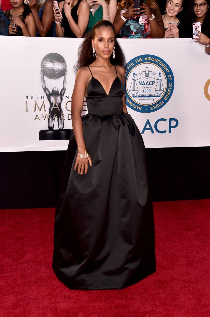 Kerry Washington attends the 49th NAACP Image Awards