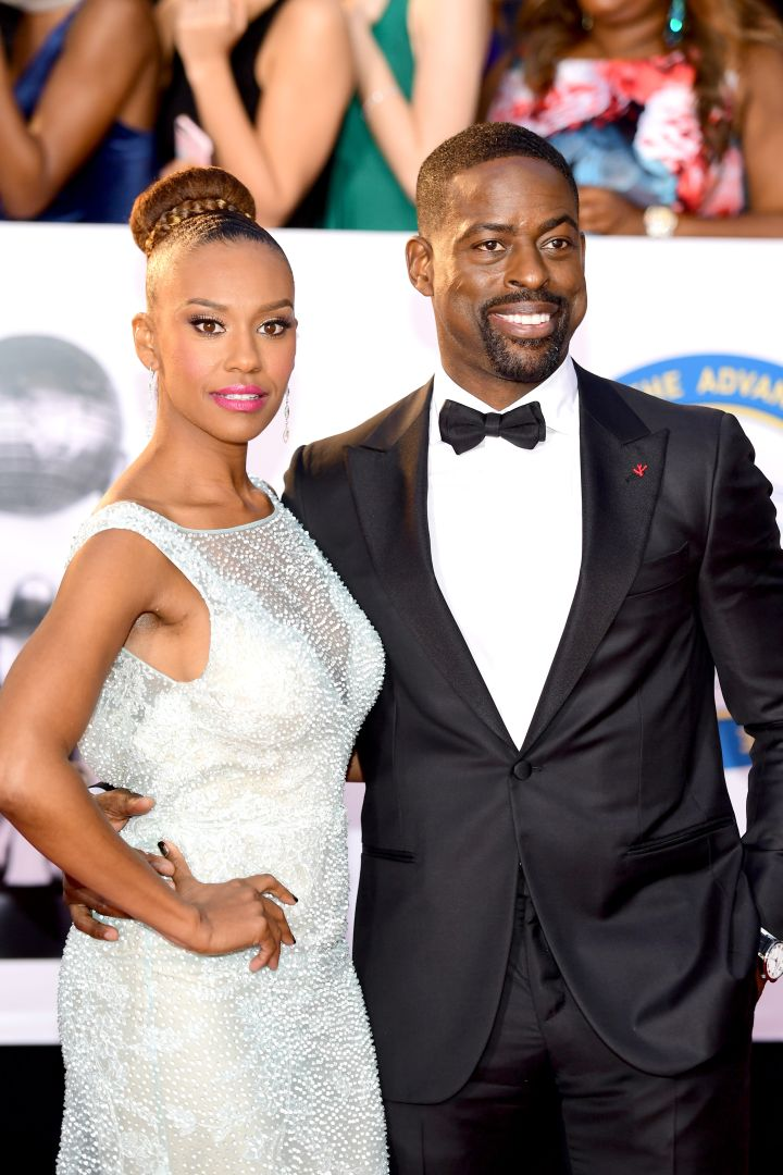 RYAN MICHELLE BATHE (L) AND STERLING K. BROWN