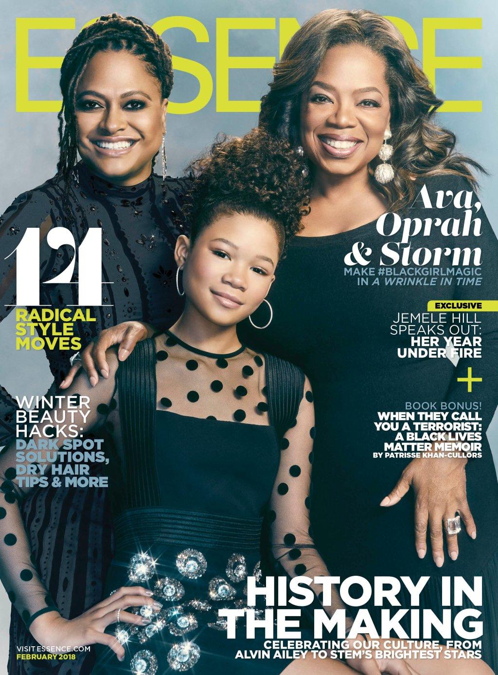 Essence Cover, February 2018