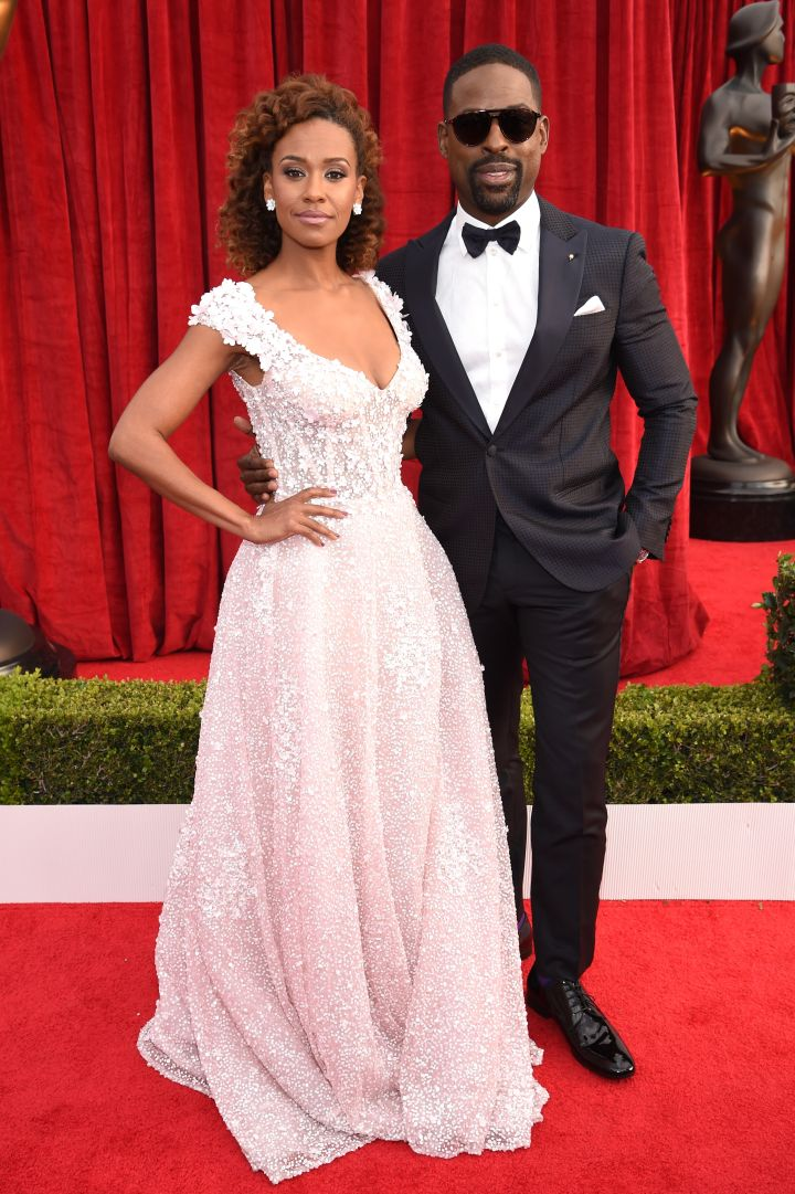 RYAN MICHELLE BATHE (L) AND STERLING K. BROWN (R)