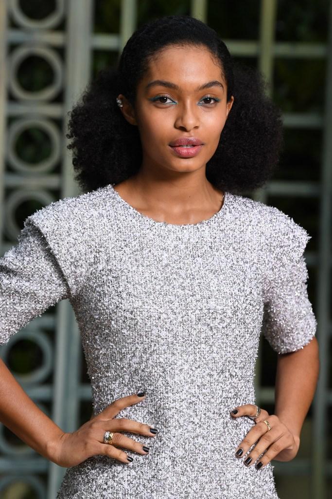 Chanel : Photocall - Paris Fashion Week - Haute Couture Spring Summer 2018