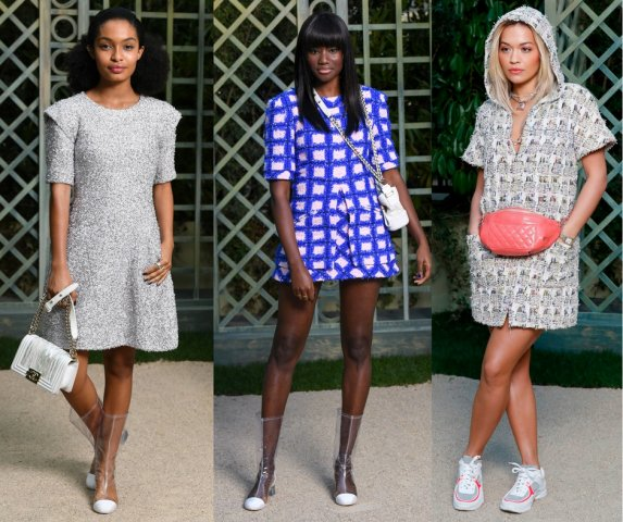 Celebs Front Row At Chanel Couture Show 2018