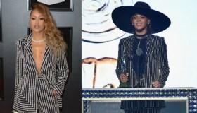 Eve and Beyonce
