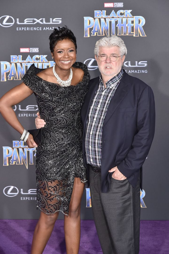Mellody Hobson and George Lucas