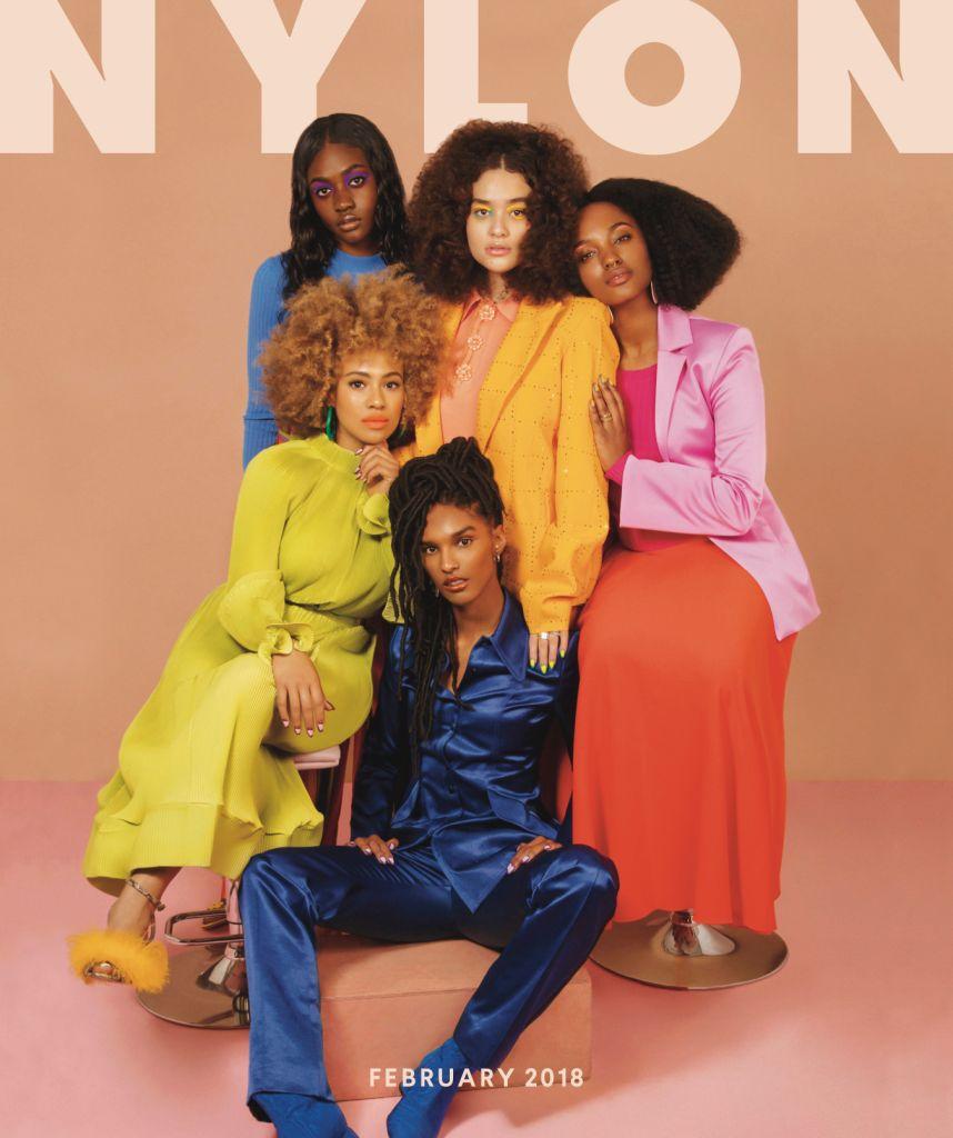 Nylon Magazine February 2018 Cover