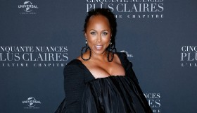 'Fifty Shades Freed - 50 Nuances Plus Clair' Paris Premiere At Salle Pleyel