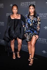 'Fifty Shades Freed - 50 Nuances Plus Claires' Paris Premiere At Salle Pleyel