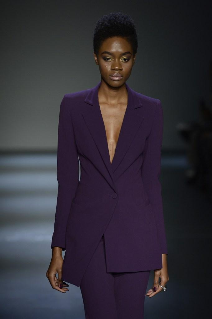 Pamella Roland - Runway - February 2018 - New York Fashion Week