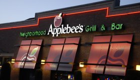 Applebees food menu in Buckley, wshington usa