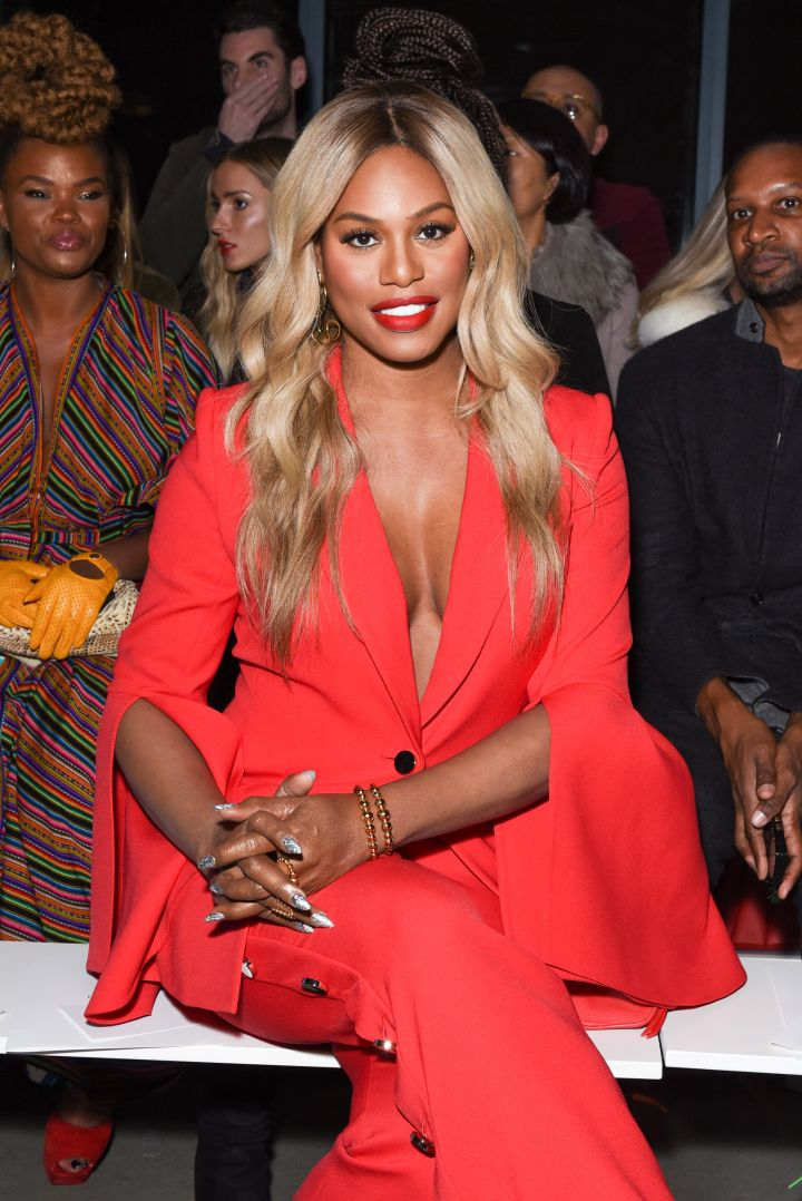 Laverne Cox attends Prabal Gurung – Front Row