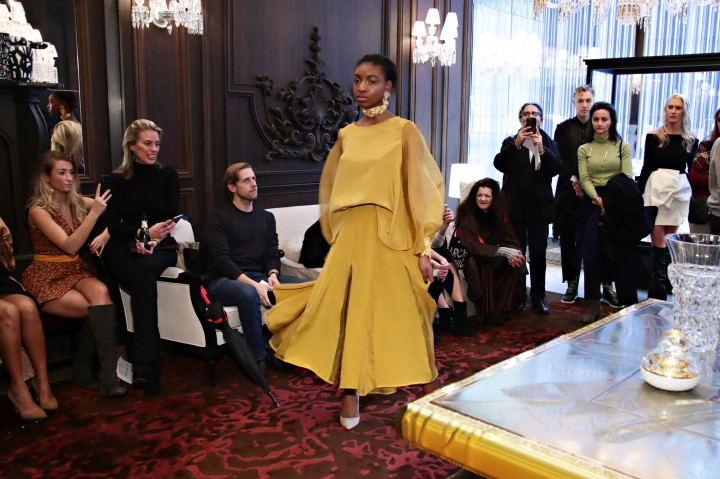 Jasmine Chong x GBGH Fall 2018 New York Fashion Week Presentation