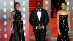 Black Panther Stars At BAFTA
