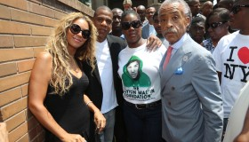 National Action Network 100 City 'Justice For Trayvon' Vigil New York - NY